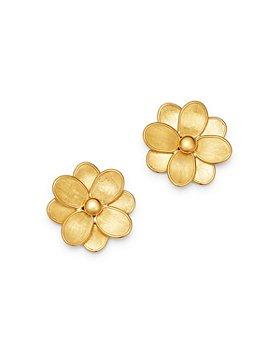 Marco Bicego - 18K Yellow Gold Petali Flower Stud Earrings - 100% Exclusive