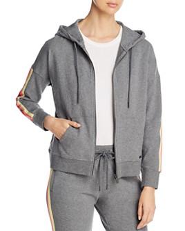 Marc New York - Contrast-Detail Hooded Sweatshirt
