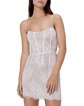 For Love & Lemons - Cheyenne Lace Mini Dress