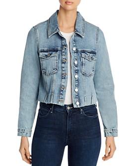 Vero Moda - Cropped Jean Jacket in Light Blue