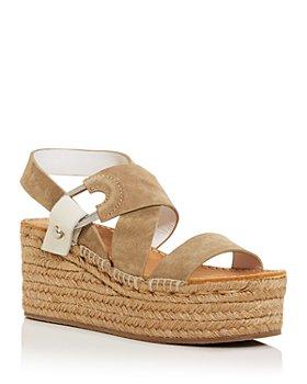 rag & bone - Women's August Espadrille Wedge Platform Sandals