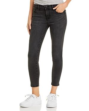 J Brand Mid-Rise Cropped Skinny Jeans in Vane-Women