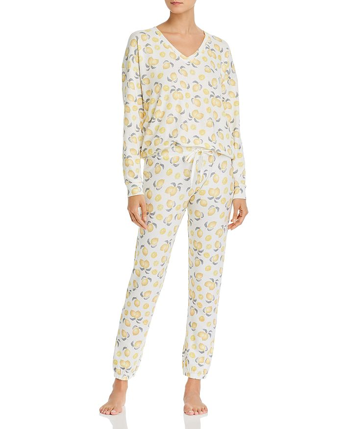 AQUA - Lemon Print Pajama Set - 100% Exclusive