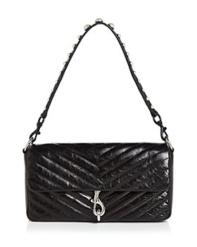Rebecca Minkoff - Edie Small Quilted Leather Clutch