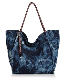 Rebecca Minkoff - Extra Large Tie-Dye Cotton Tote