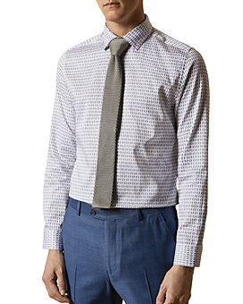 Ted Baker - Geo-Print Slim Fit Button-Down Shirt