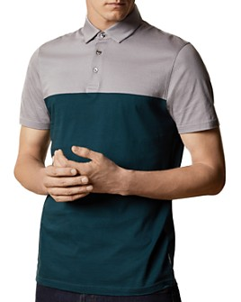 Ted Baker - Color-Blocked Short-Sleeve Polo