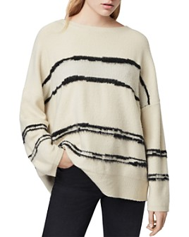 ALLSAINTS - Tara Striped Pullover Sweater