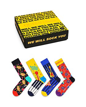 Happy Socks - Queen Crew Socks Gift Box - Pack of 4