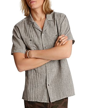 John Varvatos Star USA - Benny Pintucked Easy Regular Fit Shirt