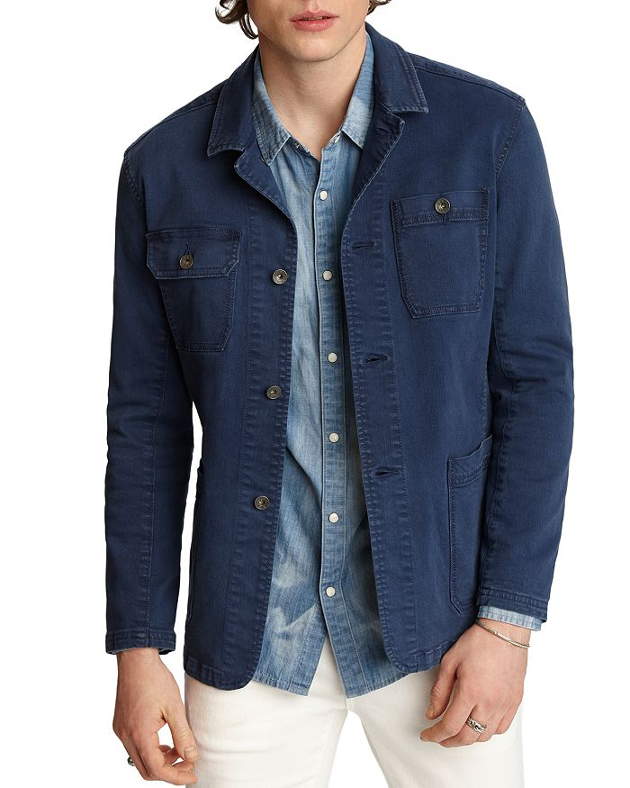 John Varvatos Star USA - Gerald Regular Fit Chore Denim Jacket