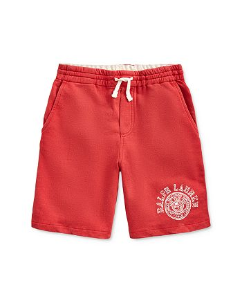 Ralph Lauren - Boys' French Terry Shorts, Big Kid - 100% Exclusive