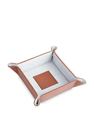 Royce New York Suede Lined Catch-All Tray