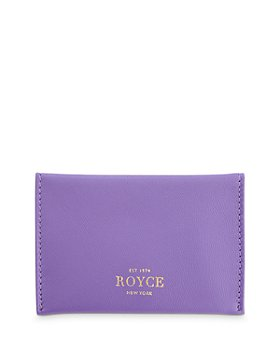 ROYCE New York - Leather Envelope Card Case