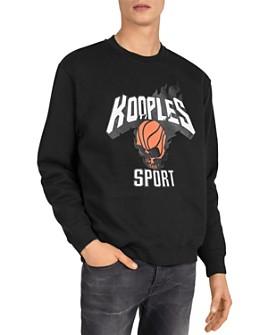 The Kooples - Basketball Graphic Sweatshirt