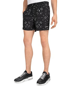 The Kooples - Wool Paisley Shorts