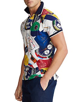 Polo Ralph Lauren - Custom Slim Fit Graphic Polo Shirt