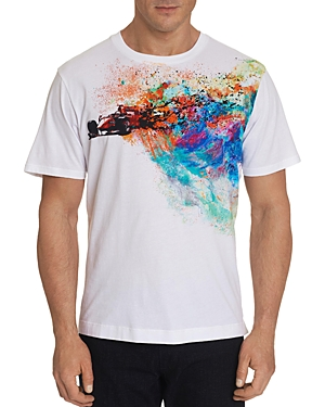 Robert Graham Color Run Graphic Tee-Men