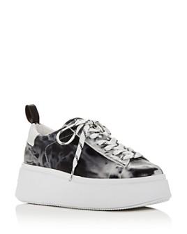 Ash - Women's Moon Platform Low-Top Sneakers