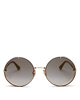 Jimmy Choo - Women's Lilo Round Sunglasses, 58mm