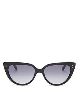 kate spade new york - Women's Alijah Cat Eye Sunglasses, 53mm