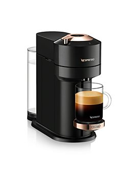 Nespresso - Vertuo Next Premium Coffee and Espresso Maker by DeLonghi, Black Rose Gold