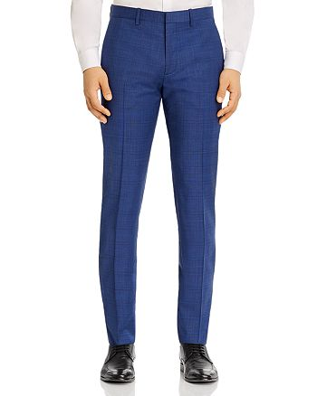 Theory - Mayer Plaid Slim Fit Suit Pants