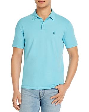 John Varvatos Star Usa Knoxville Pigment-Dyed Regular Fit Polo Shirt-Men