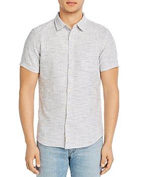 Marine Layer - Cotton Selvage Stripe Slim Fit Button-Down Shirt