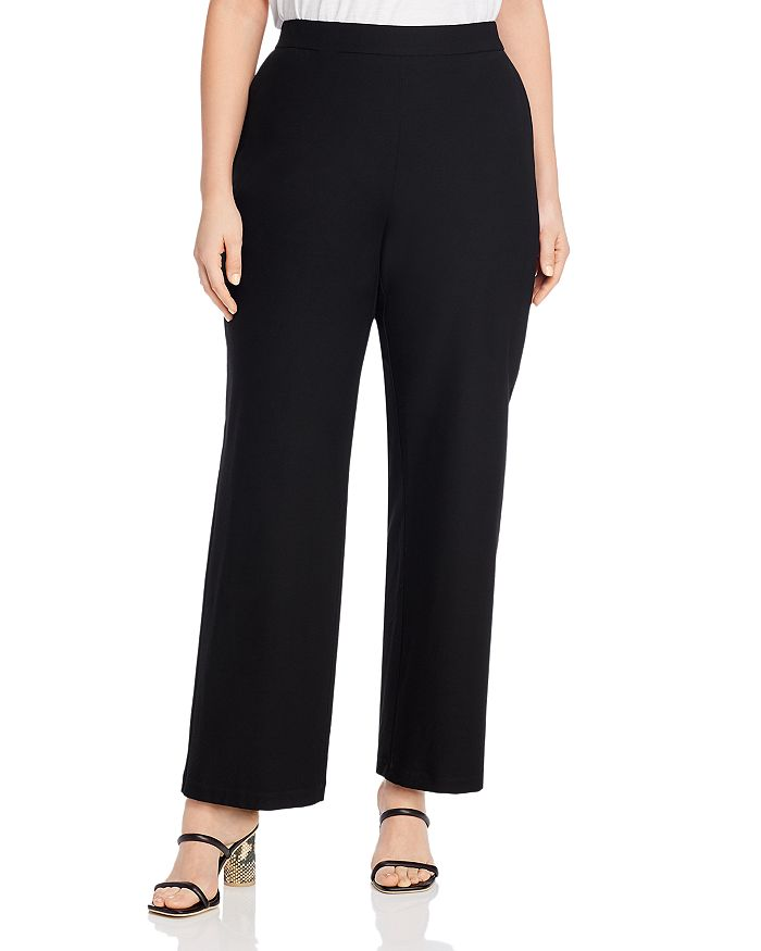Eileen Fisher Plus - Straight-Leg Pants