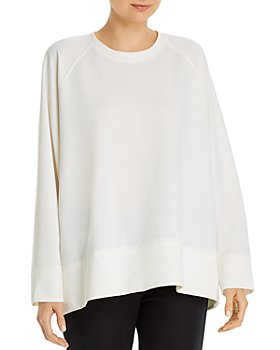 Eileen Fisher - Round-Neck Sweatshirt