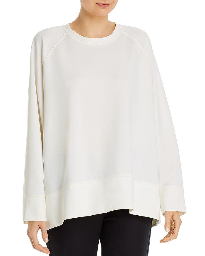 Eileen Fisher Petites - Petites Round-Neck Sweatshirt