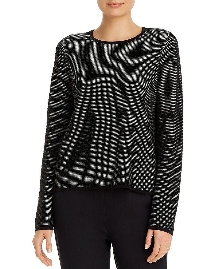 Eileen Fisher - Textured Crewneck Sweater