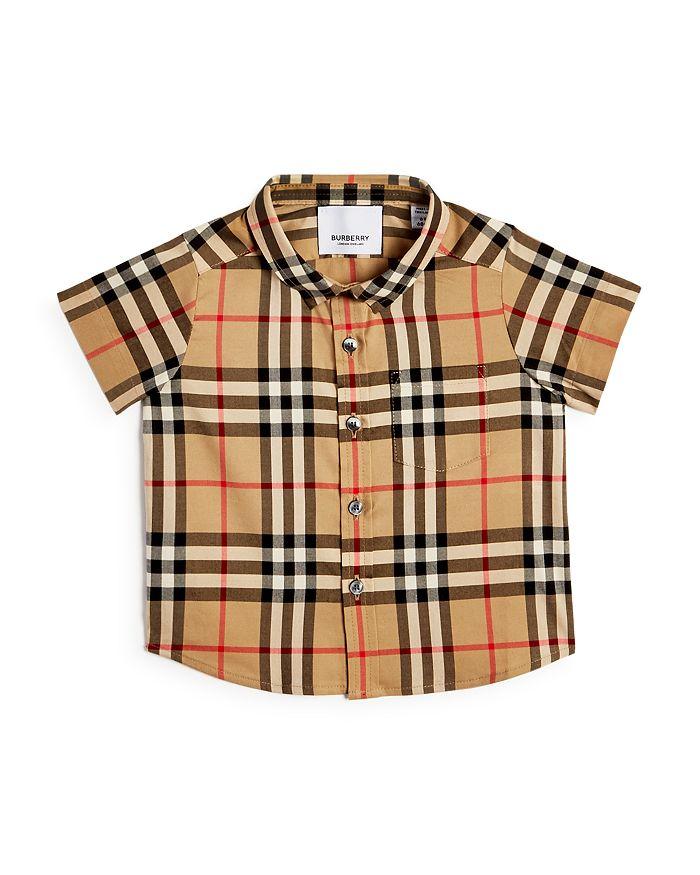 Burberry - Boys' Fredrick Vintage Check Shirt - Baby