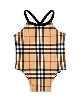 Burberry - Girls' Vintage Check Swimsuit - Baby