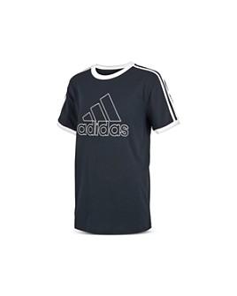 Adidas - Boys' Ringer Logo Tee - Little Kid