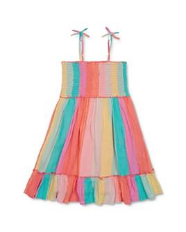 Peek Kids - Girls' Baja Striped Dress - Little Kid, Big Kid