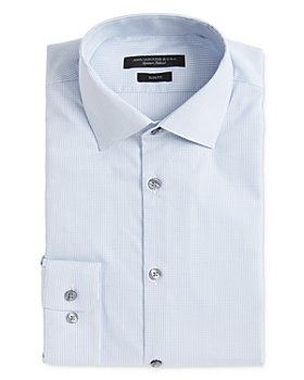 John Varvatos Star USA - Soho Dobby Stripe Slim Fit Dress Shirt