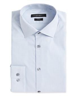 John Varvatos Star USA - Soho Dobby Stripe Slim Fit Dress Shirt
