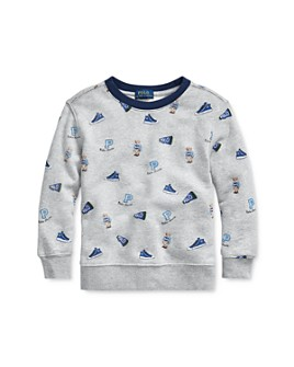 Ralph Lauren - Boys' Cotton Sneaker Sweatshirt - Little Kid