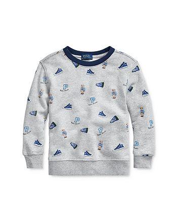 Ralph Lauren - Boys' Cotton Sneaker Sweatshirt - Little Kid