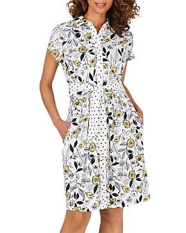 Foxcroft - Vienna Floral Shirtdress