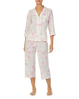 Ralph Lauren - Floral Print Capri Pajama Set