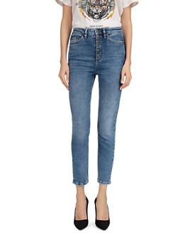 The Kooples - Blue Lizy Slim-Leg Jeans