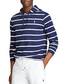 Polo Ralph Lauren - Cotton Stripe Hooded Tee