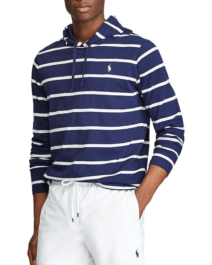 Polo Ralph Lauren - Cotton Stripe Hooded Tee