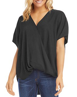 Karen Kane - Oversized Crossover Top