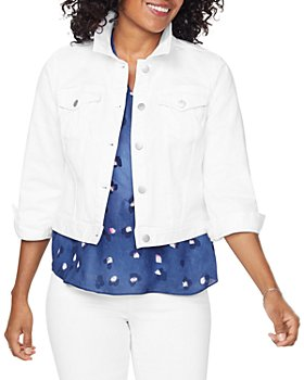NYDJ - Slim Trucker Jean Jacket in Optic White