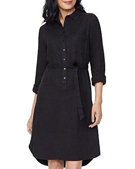 NYDJ - Tie Waist Shirt Dress