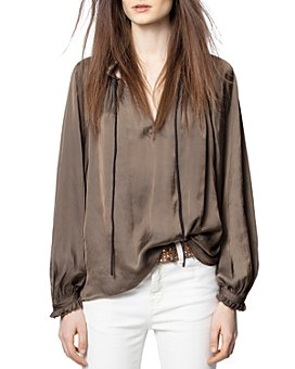 Zadig & Voltaire - Theresa Ruffled-Cuff Top